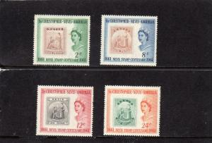 St Christopher,Nevis,Anguilla Cent of Stamps  MLH
