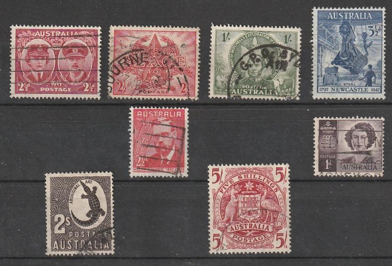 #197,200,205,208,212,213,215,218 Australia Used