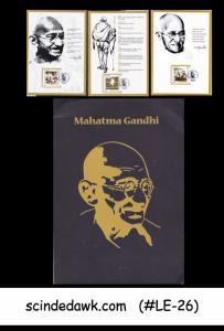 BANGLADESH - 2011  INDIPEX 2011 / MAHATMA GANDHI PANELS/FDI 3nos