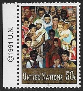 United Nations UN New York 1991 Scott # 591 Mint NH Ships Free With Another Item