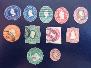 11 MULTI-STAMPS -
