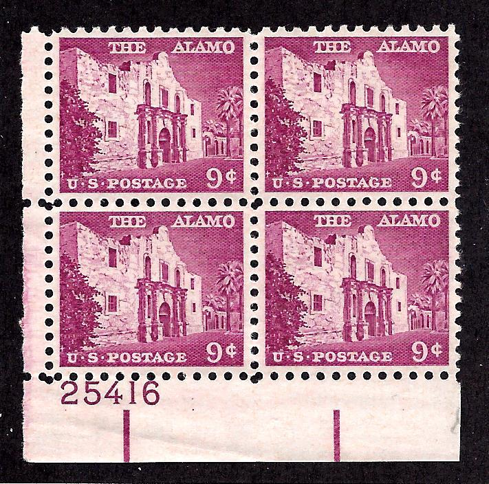 1043 Mint,OG,NH... Plate Block of 4