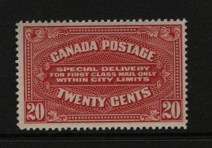 Canada #E2 Mint Fine Never Hinged