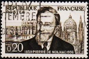 France. 1960 20c S.G.1468 Fine Used