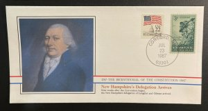 US #1068,2115 Used on Cover - Bicentennial of Constitution 1787-1987 [BIC16]