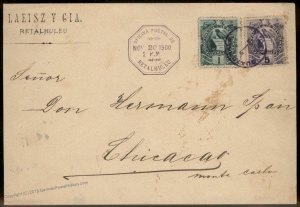 Guatemala 1900 Retalhuhleu Mazatenango Chicacao  Cover 92810