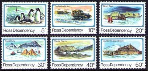New Zealand-Ross Dependency Sc#L15-L20 1982 Pictorials Set MNH