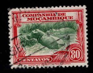 Mozambique Company Scott 186 Used Hippo stamp