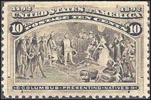 237 Mint,OG,NH... SCV $250.00... XF