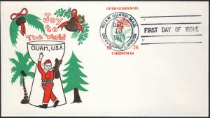 Guam Guard Mail FDC Postal Stationery Christmas 1976