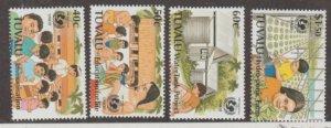 Tuvalu Scott #721-724 Stamps - Mint NH Set