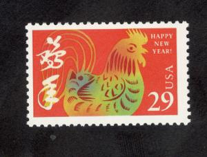 2720  Chinese New Year (Rooster) US Single Mint/nh FREE SHIPPING
