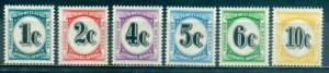 South West Africa #J96-J101  Mint  Scott $11.25