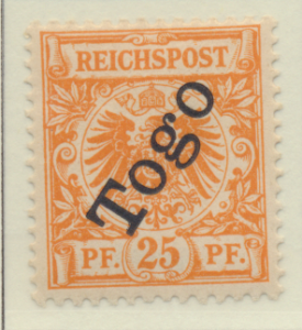 Togo Stamp Scott #5, Mint Lightly Hinged - Free U.S. Shipping, Free Worldwide...