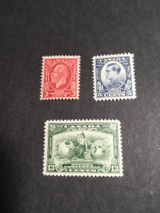 Canada - USC #192-194 Mint F-VF LH-H Cat. $19.75 1932 Economic Conf.