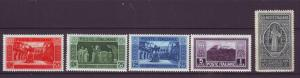 J21568 Jlstamps 1929 italy part of set mh #232-3,235-7 religion