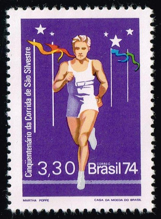 Brazil #1374 Long Distance Runner; MNH (0.90)