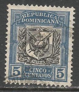 DOMINICAN REPUBLIC 175 VFU ARMS I136-2