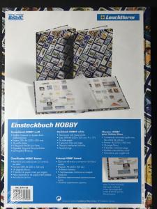NEW Lighthouse 339105 HOBBY Stockbook A4 Stamp Motif - Retail $25