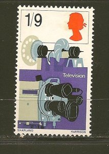 Great Britain 521 Television Mint Hinged