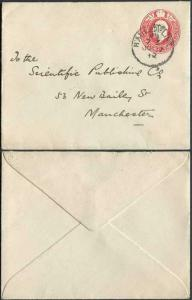 EP51 KEVII 1d Scarlet McCorquodale Post Office Envelope Size H Mint
