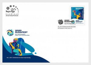 H01 Hungary 2020 34th Len European Water Polo Championships FDC