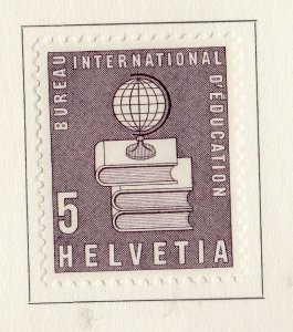 Switzerland Helvetia 1958 Early Issue Fine Mint Hinged 5c. NW-170865
