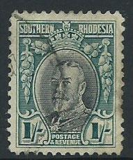 Southern Rhodesia SG 23 Used