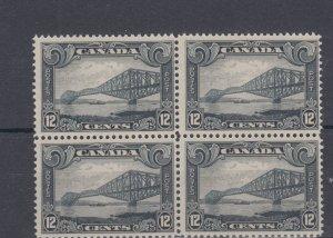 #1 BLOCK of FOUR Fine MNH Cat $400 Canada mint post office fresh