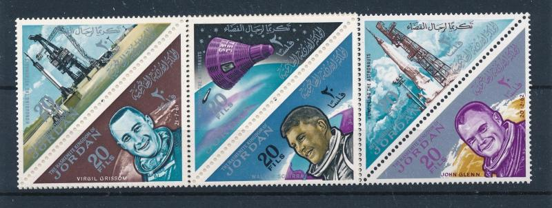 [48617] Jordan 1964 Astronauts manned space flights MNH