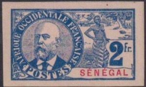 Senegal 1903 SC 71 Imperf MLH / Maury 46 Imp