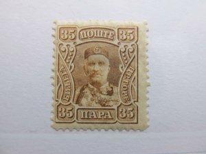 Montenegro 1907 35p Fine MH* A5P17F333