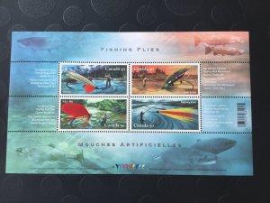 Canada Mint NH #2087 Fishing flies