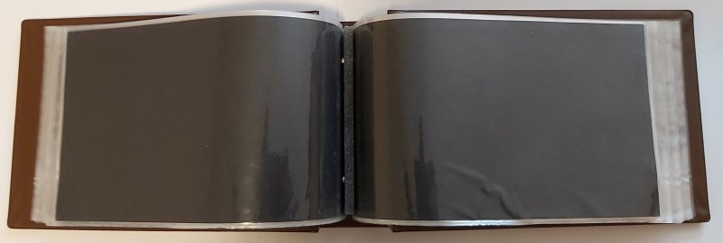 Unisafe FDC Stockbook Album for Covers up to 5 x 8 50 Pages 2 Sided=100 slots