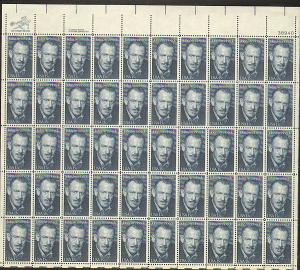 US #1773 Mint Sheet John Steinbeck