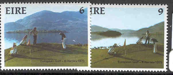 IRELAND MNH 371-372 9TH AMATEUR GOLF TEAM CHAMPIONSHIPS