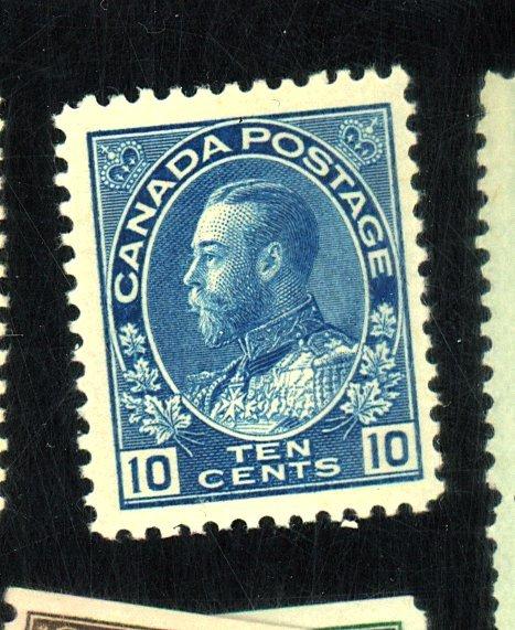 CANADA #117 MINT FVF OG NH CAT $110