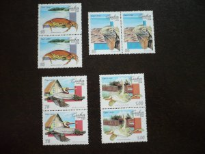 Stamps - Cuba - Scott#3598-3601 - MNH Set of 4 Stamps in Pairs