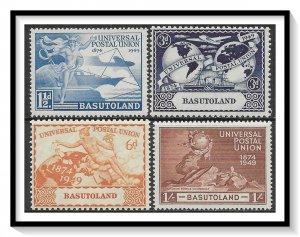 Basutoland #41-44 UPU Issue Set MNH
