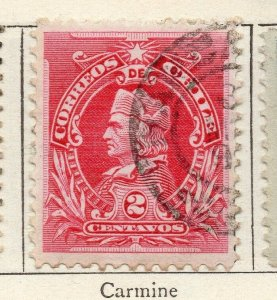 Chile 1901 Early Issue Fine Used 2c. NW-11414