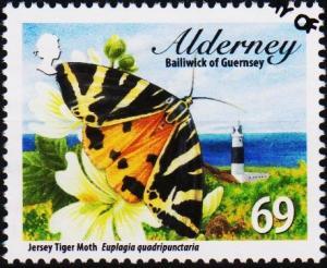 Alderney. 2012 69p fine Used
