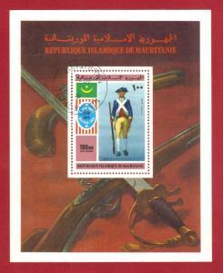 MAURITANIA SC# S158  1975 100 um   SOUVENIR SHEET    SEE SCAN