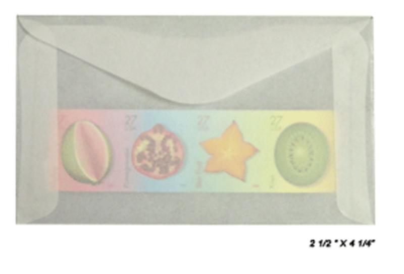 100 count - Glassine Envelopes #3 -ACID FREE - size 2 1/2 x 4 1/4 - NEW