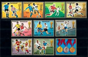 [69091] Paraguay 1973 World Cup Football Soccer Germany  MNH