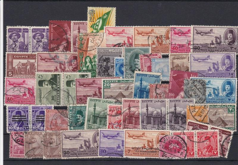 Collect Egypt Used Stamps Ref 27189