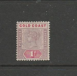Gold Coast 1898/1902 1d MM SG 27