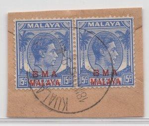 Malaya BMA - 1945 - SG 12 - Fine Used (Kuala Ketil #2 Cancellation)