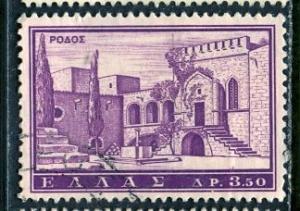 Greece; 1961: Sc. # 699: O/Used Single Stamp