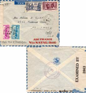 Martinique 60c and 90c Village of Basse-Pointe, 3F Martinique Women, and 2.25...