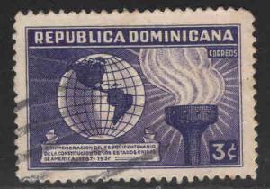 Dominican Republic Scott 333 used